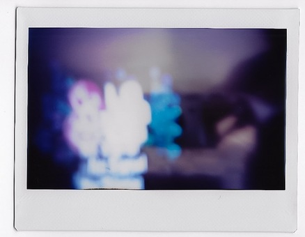 Colorful, blurred image, lights